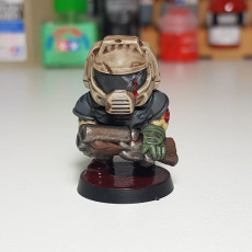 Picture of print of Doomguy