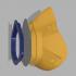 BolivAIR 3D Printable, Breathable, HEPA Respirator Mask image