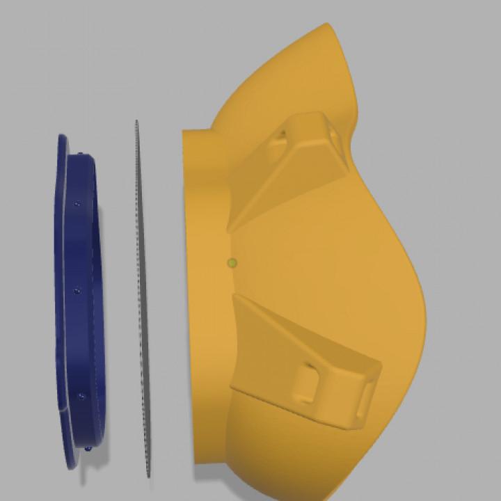 BolivAIR 3D Printable, Breathable, HEPA Respirator Mask