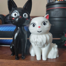 Picture of print of Jiji & Lily (Kiki's delivery service)