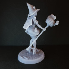Picture of print of Mage Apprentice - Fantasy Pin-up #1