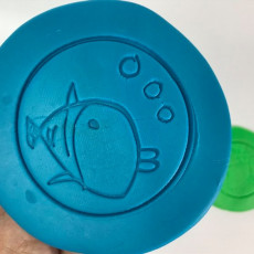 Playdoh | fish | 2D drawing
