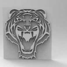 tiger picture 3d