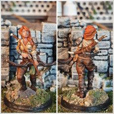 Picture of print of Lila Elf Ranger