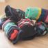 Socks organizer (Marie Kondo) image