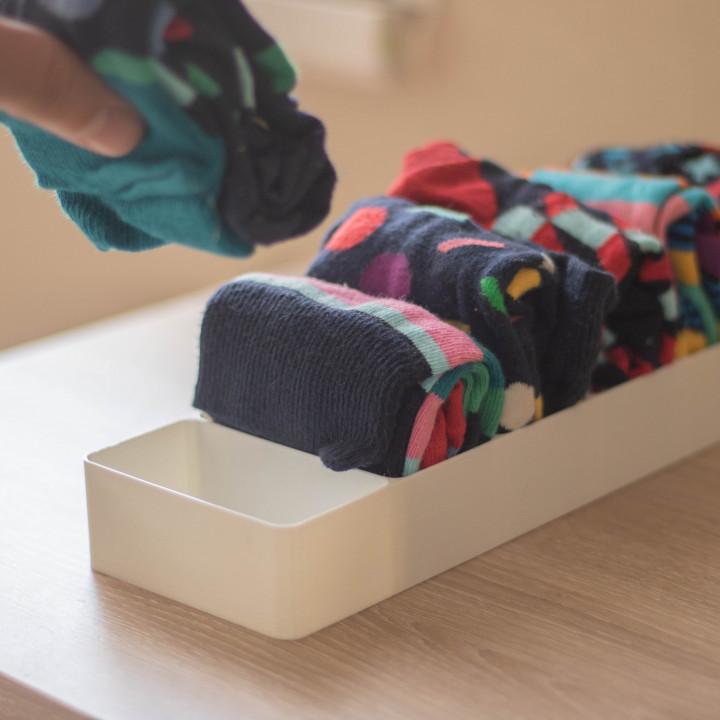 Socks organizer (Marie Kondo)