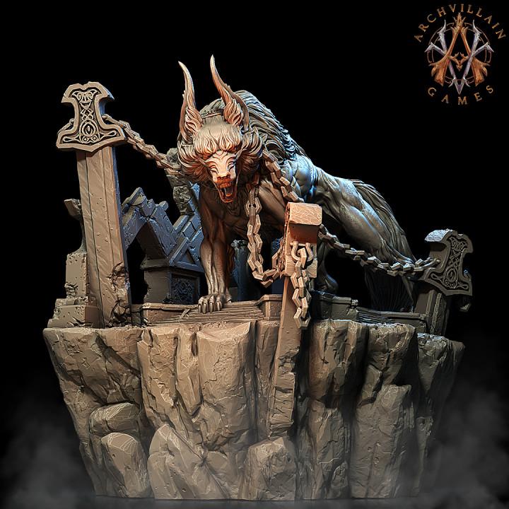 Fenris the Lycan God