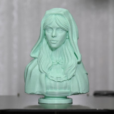 Picture of print of Red Riding Hood Bust