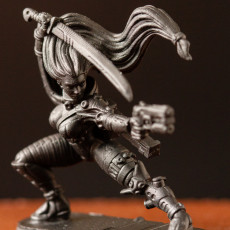 Picture of print of Viera - Assassin - 32mm - DnD -