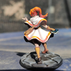 Picture of print of Elisa - Wizard Apprentice - 32mm - DnD