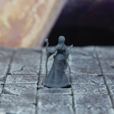 Picture of print of April, Novice sorcerer