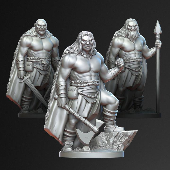 3 Ancient Barbarians