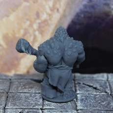 Picture of print of Ixaloth, Tribal Troll