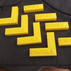 ENDER 3 3D PRINT BED CLIPS