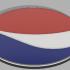 Pepsi coaster image