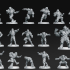 Human Team 16 miniatures Fantasy Football 32mm image