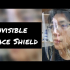 Invisible face shield for people with glasses image