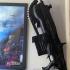 gears of wars lancer mk2 wall mount hooks image