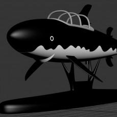 Tintin Shark Submarine