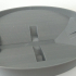 Oval Soap Dish With Drainage image