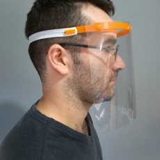 Face shield - printing  in 14 minutes