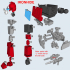 ARTICULATED G1 TRANSFORMERS IRONHIDE - NO SUPPORTS image