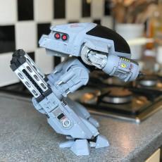 Picture of print of OCP - ED209 (Robocop 1987)