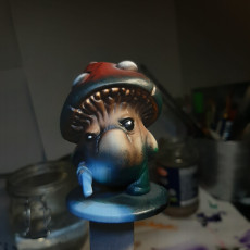Picture of print of Shroomie Pikeman Miniature