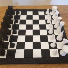 Chess Set (optionally magnetic)