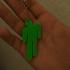 billie eilish logo keychain image