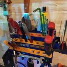 Tool rack / organizer