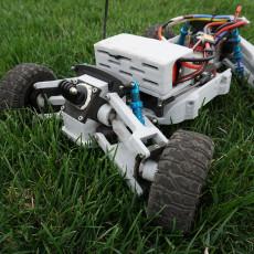 3D Printed RC Car V4 -- Tarmo4 (All files)