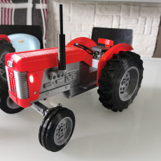 Picture of print of OpenRC Tractor MF65 mk2 mod