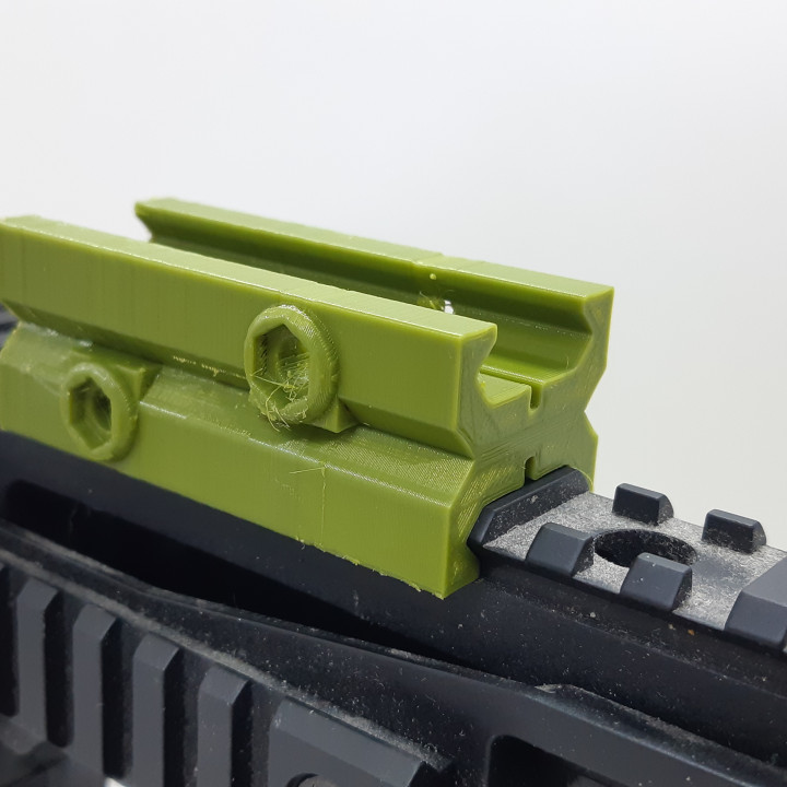 Picatinny Female to Female Mater Adapter