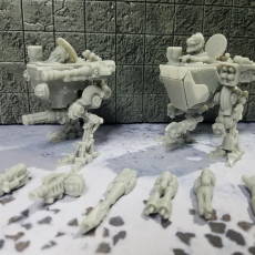 Picture of print of SCAMP - Scout Mech Wargame Miniature
