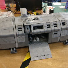 Picture of print of Starship Chimera