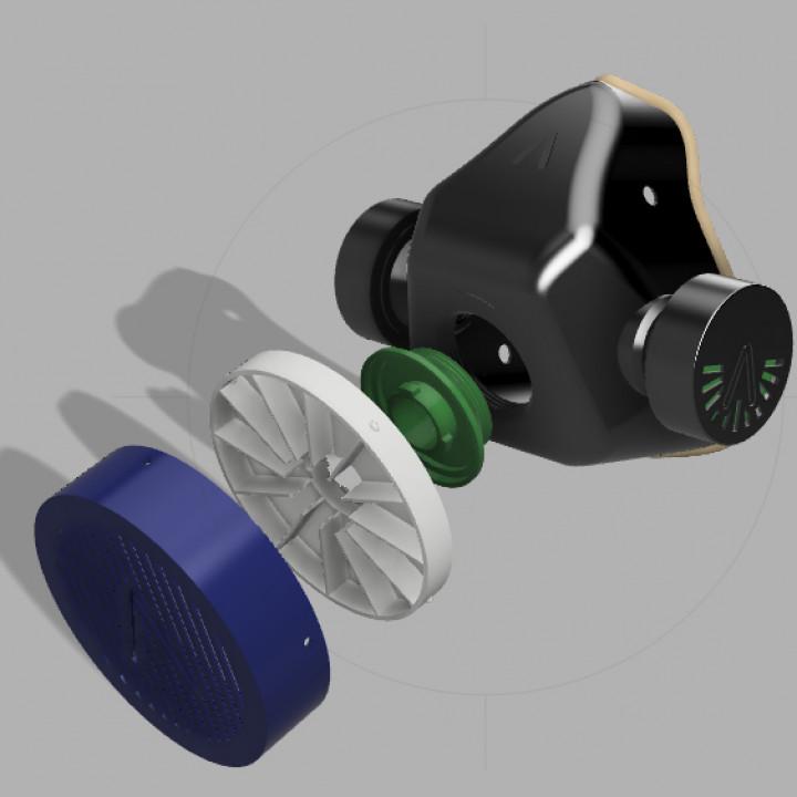 VMO MASK V3 - 3D-PRINTED PROTECTIVE- CORONAVIRUS COVID-19 (IMPROVED VERSION)