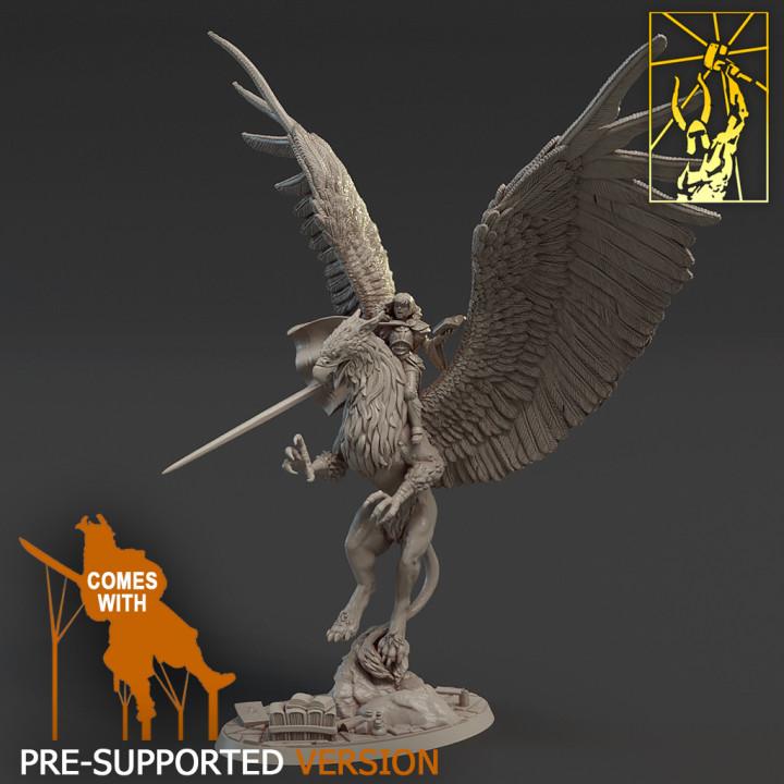 Spellblades - Mage on Griffin