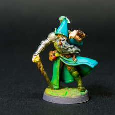 Picture of print of Spellblades - Old Mage
