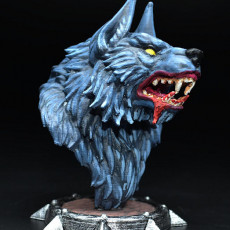 Picture of print of Werewolf bust