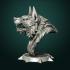Werewolf bust image