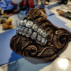 Picture of print of Biomechanical skull mask