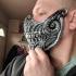 Biomechanical skull mask image