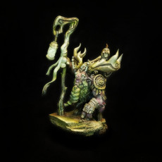 Picture of print of Temur, Ariche Shaman (Pre-Supported)