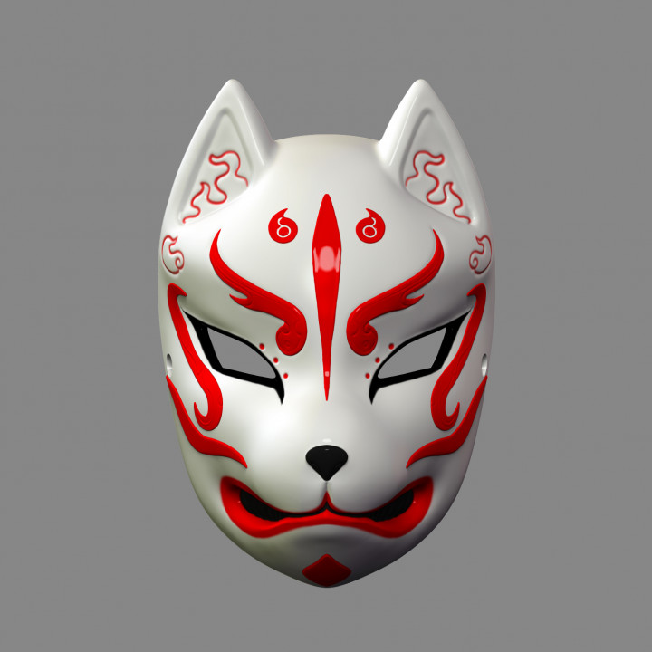 It's just an image of Fox Mask Printable within easy