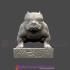 Bulldog Statue Miniture for Pet Lover image
