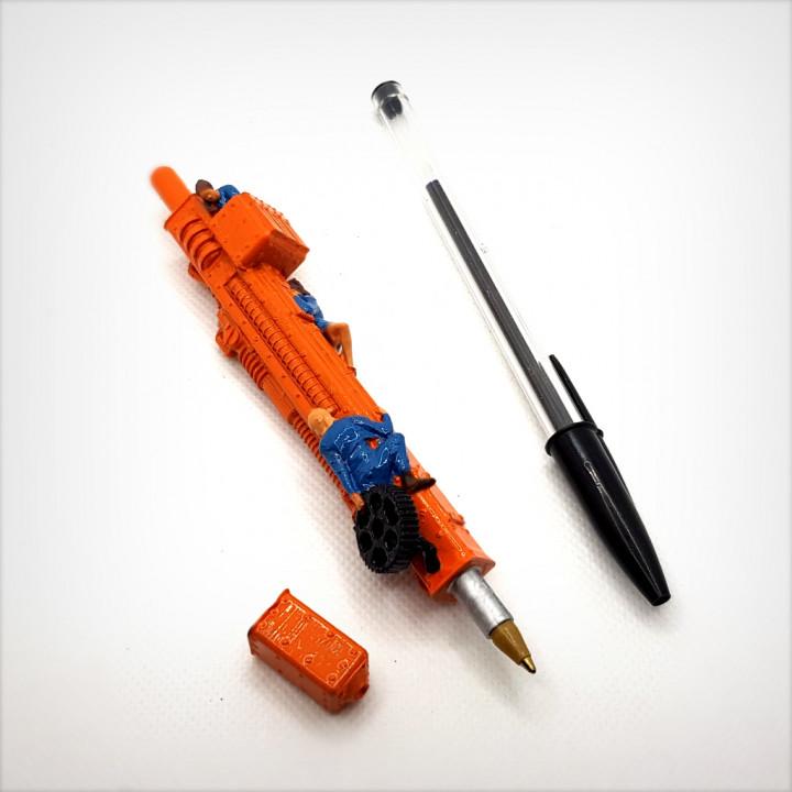 Robot pen.