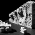 Montini NASA Mars Gale Crater Wall Set (Lego Compatible) image