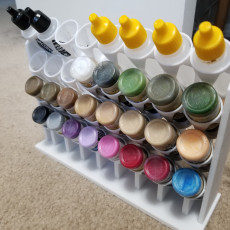 Vallejo 32 slot paint rack vertical