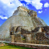 Uxmal (Pyramid of the Diviner) - Mexico image